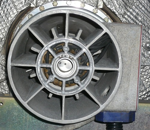 Capstone Microturbine high speed generator alternator